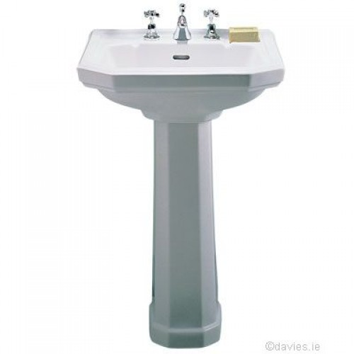 Clarice 58cm 1th Pedestal Basin