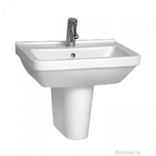 Vitra S50 Sqr 55cm 1th Basin